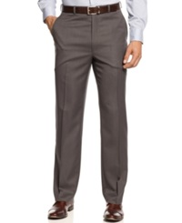 Michael Michael Kors Herringbone Flat Front Dress Pants
