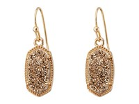 Kendra Scott Lee Earring Rose Gold Rose Gold Drusy Earring