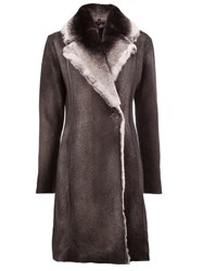Avant Toi Long Shearling Coat