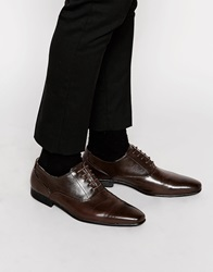 New Look Oxford Lace Up Shoes Mocha