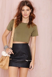 Nasty Gal After Party Vintage Betina Crop Top