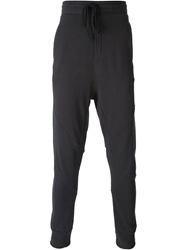 Thom Krom Drop Crotch Track Pants Grey