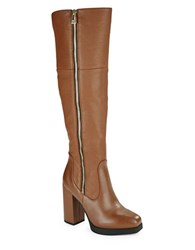 Sam Edelman Hollands Knee High Boots Cognac