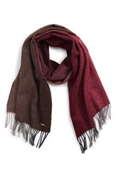 Boss Men's T Hereno Wool And Cashmere Scarf Open Beige