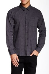 Ezekiel Angus Long Sleeve Classic Fit Shirt Black