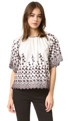 Ulla Johnson Selena Blouse Daisy