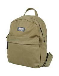 A.G. Spalding And Bros. 520 Fifth Avenue New York Backpacks And Fanny Packs Military Green