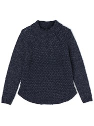 Dash Turtle Neck Jumper Navy