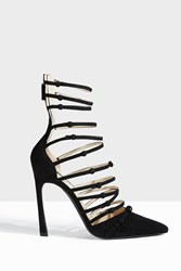 Giambattista Valli Women S Multi Strap Heels Boutique1 Black