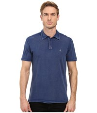 John Varvatos Soft Collar Peace Polo K1381s3b Blue Men's Clothing