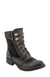 Earthr Women's Earth 'Summit' Lace Up Boot Stone Vintage Leather