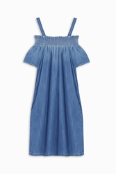 Current Elliott Madeline Dress Blue