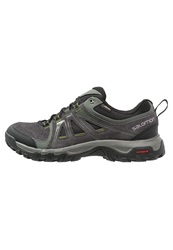 Salomon Evasion Gtx Walking Shoes Asphalt Black Genepi Dark Gray