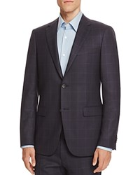 Theory Windowpane Slim Fit Sport Coat Eclipse
