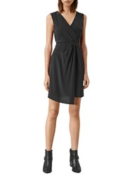 Allsaints Peak Dress Black