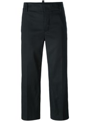 Dsquared2 Cropped Trousers Black