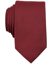 Perry Ellis Dolby Solid Slim Tie Red