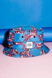 Opening Ceremony Composition Checkered New Era Bucket Hat Royal Multi