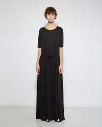 Raquel Allegra Drawstring Waist Maxi Dress