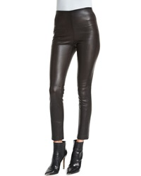 Derek Lam Leather Ankle Leggings