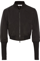 Elizabeth And James Flight Lena Cropped Shell Jacket Black