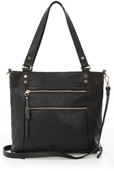 Oasis Katie Zip Satchel Black