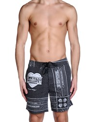 Carhartt Swimwear Swimming Trunks Men Black