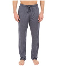 Calvin Klein Underwear Liquid Luxe Lounge Pants W Pockets Navy Heather Men's Underwear Gray