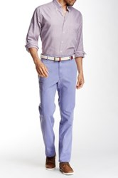 Peter Millar Raleigh Flat Front Washed Pant Purple