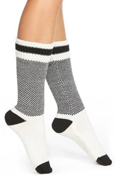 Women's Kensie 'Back And Forth' Boot Socks