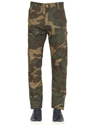 Carhartt 19Cm Camouflage Cotton Blend Pants