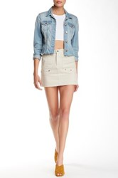 Zadig And Voltaire Jivron Mini Skirt White