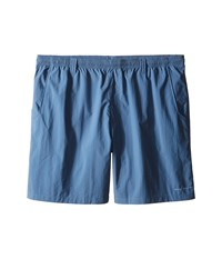 Columbia Big Tall Backcast Iii Water Short Steel Men's Shorts Silver