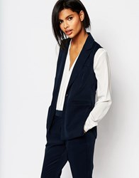 Vero Moda Sleeveless Blazer Navy