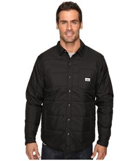 Penfield Albright Insulated Shirt Black Men's Clothing