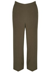 Alice And You Wide Leg Trousers Khaki