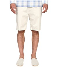 Vince Cotton Sateen Urban Shorts Stone