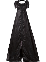 Ktz Zip Front Flared Evening Dress
