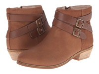 Softwalk Rancho Tan Distressed Nubuck Leather Women's Boots Brown