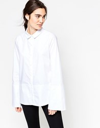 Minimum Hilte Clean Shirt White