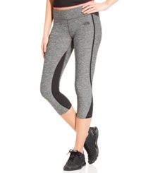 The North Face Dynamix Cropped Leggings Black Heather