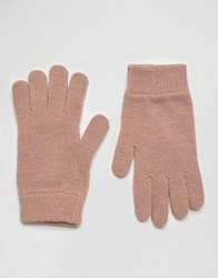 Asos Touch Screen Magic Gloves Pink