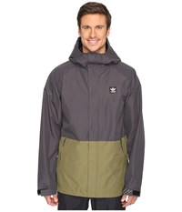 Adidas Riding Jacket Utility Black Olive Cargo Men's Coat