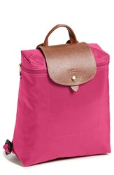 Longchamp 'Le Pliage' Backpack Pink Pink Pink
