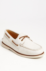 Sperry 'Authentic Original Gold Cup' Boat Shoe Ivory