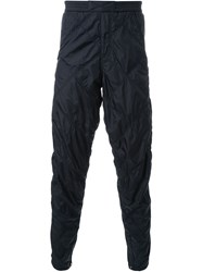 Alexander Wang Quilted Tapered Trousers Black
