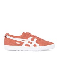 Asics Peach Mexico Delegation Suede Sneakers Orange