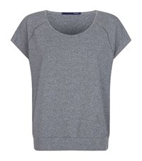 Elie Tahari Jace Sports T Shirt Female Grey