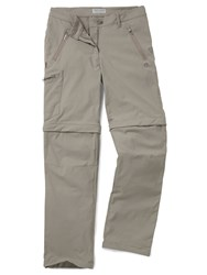 Craghoppers Nosilife Pro Convertible Trousers Mushroom