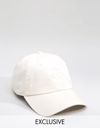 Puma Cap In Off White Exclusive To Asos White